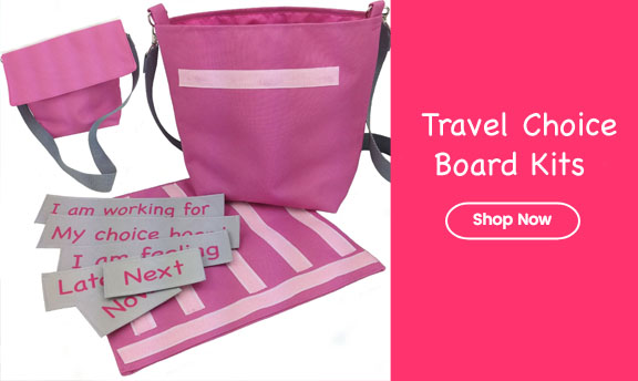 pink bag choice board